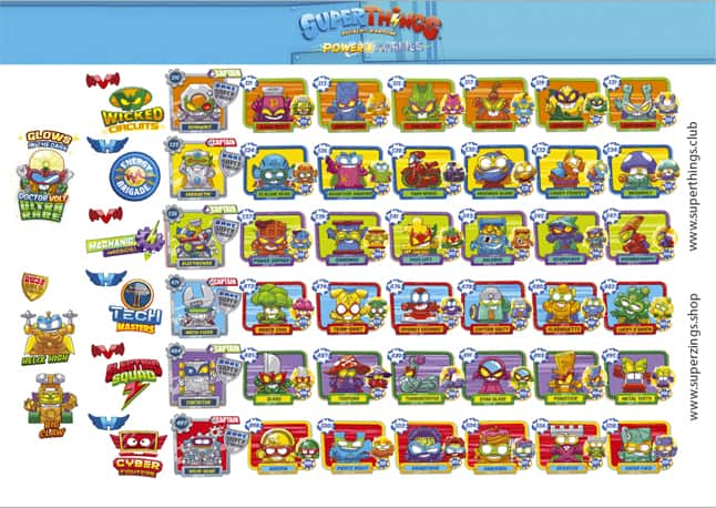 lista personajes superthings serie 7